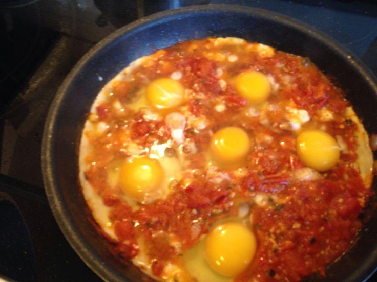 Eggs in purgatory- phenomenal! | Breakfasts | Pinterest