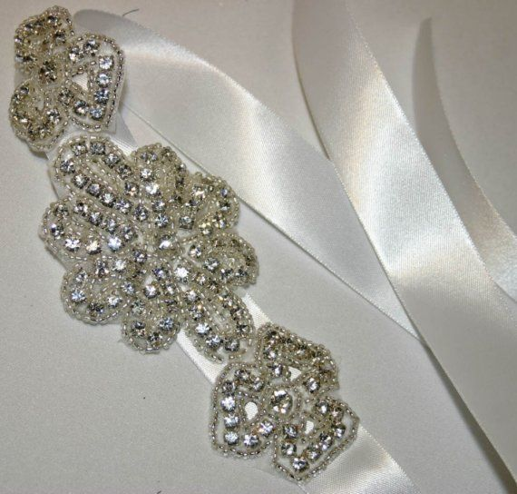 Sash or headband wedding belts sashes bridal accessorie