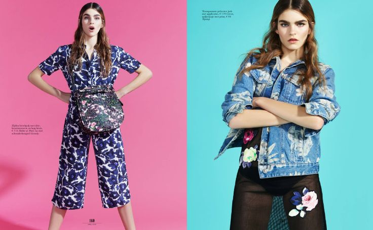 visual optimism; fashion editorials, shows, campaigns & more!: ka-bloem: tess de vries by jolijn snijders for elle netherlands april 2014