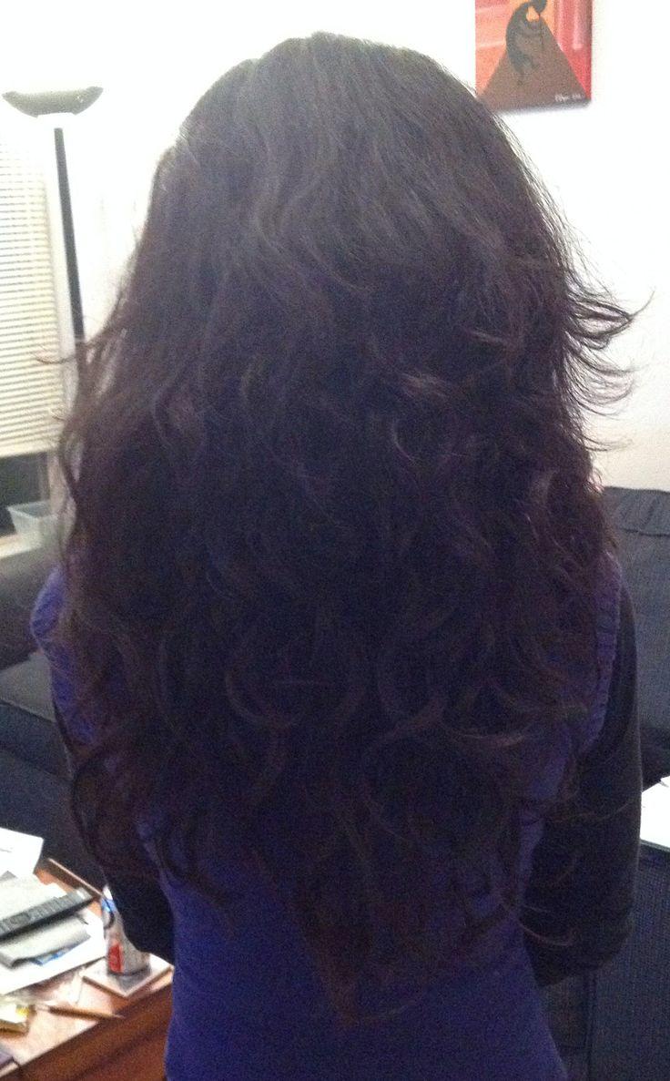 Vshaped haircut or long layers new haircut  CurlTalk