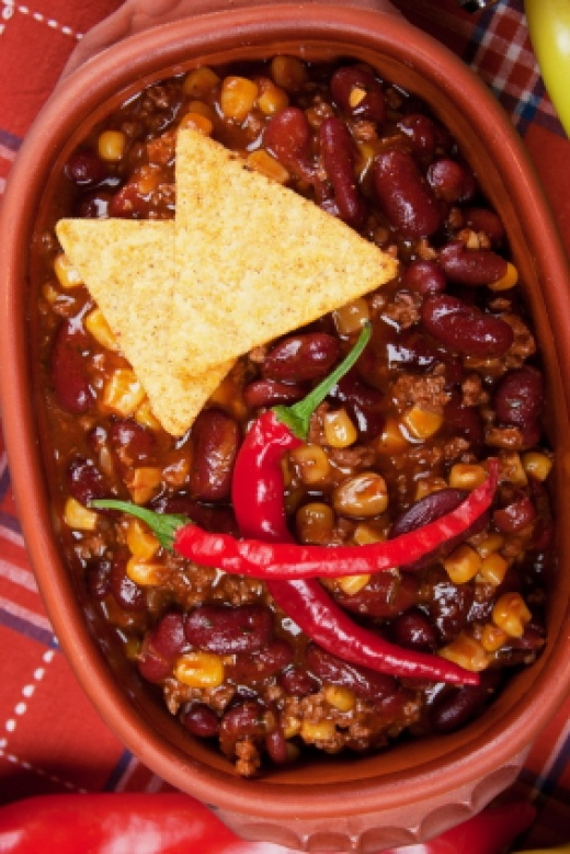 ... Halftime Chili Con Carne submitted by rmay -- this chili would be a
