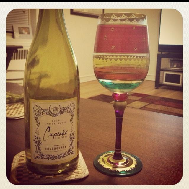 Cupcake wine G2 | Kiss the Chef | Pinterest