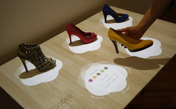 Interactive Displays Could Change the Way You Shop for Shoes VIDEO