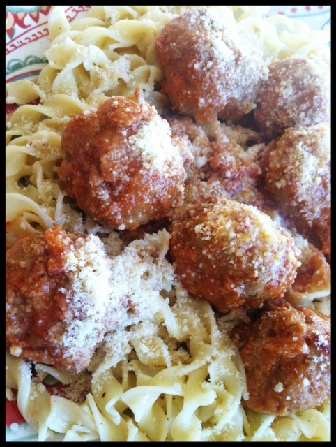 Homemade Meatballs | A Toast To The Good Life | Pinterest
