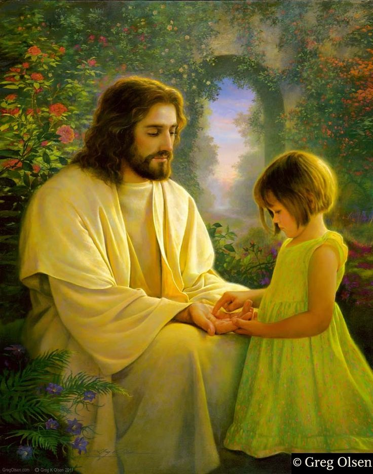 Feel my Savior's Love - Greg Olsen