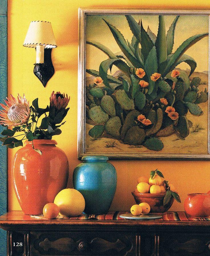 Hacienda Style Paintings Rachael Edwards