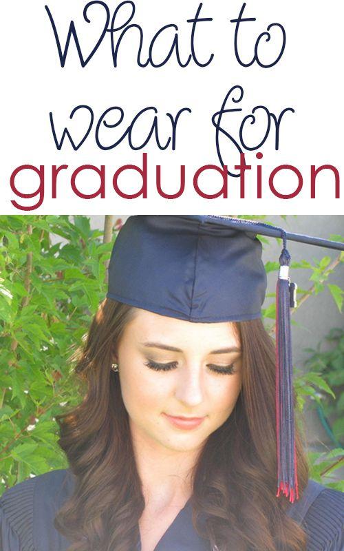 What to wear high school graduation