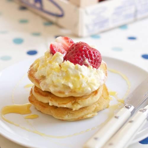 chamomile cream strawberries and cream tart strawberries and cream ...