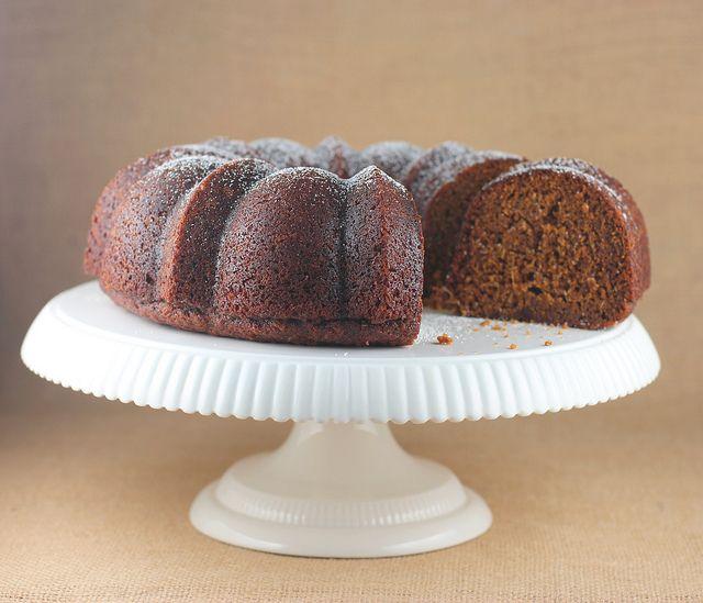 Fresh Ginger & Molasses Bundt Cake by Food Librarian, via Flickr