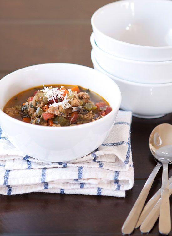 recipe: italian sausage wild rice and vegetable soup | Café Zupas