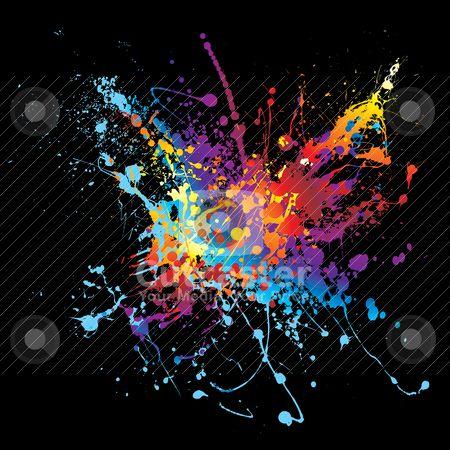 Paint Splatter | Art | Pinterest