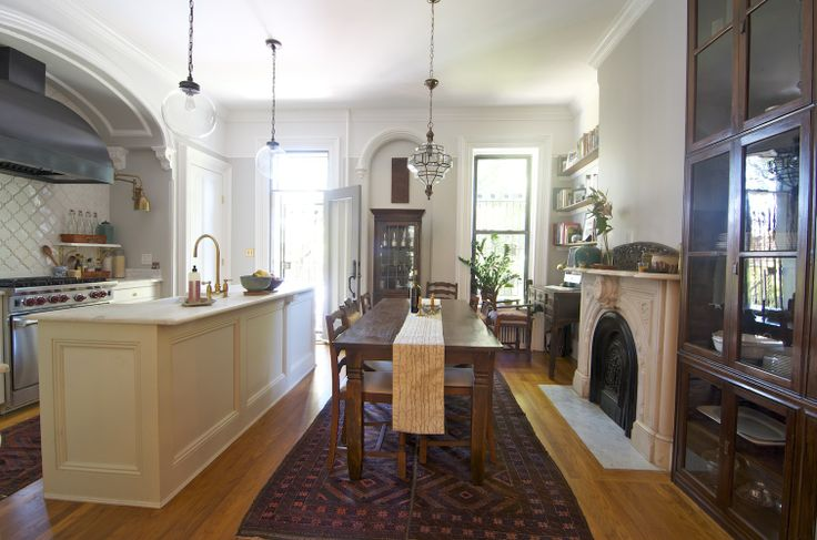 Traditionl Brownstone Kitchen Dreamy Brownstone Pinterest