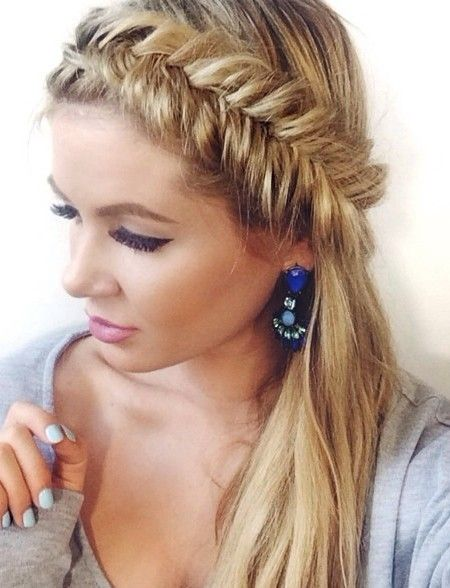 Fishtail Braided Hairstyles: Blake Lively Hair pics
