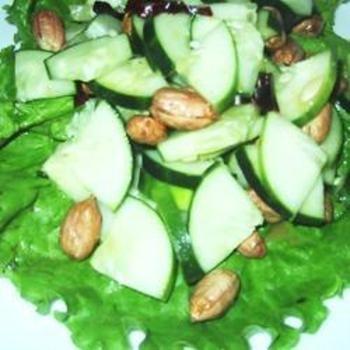 Cucumber Peanut Salad   Recipes I Will Make   Pinterest