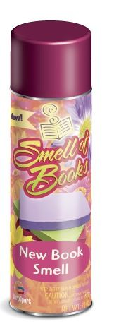 smell of books - if you feel like you're missing something with your e-book reader... :)