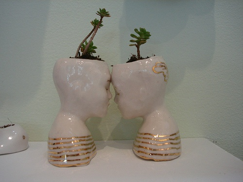 Head Shaped Plant Pots Pot Heads And Planters Pinterest