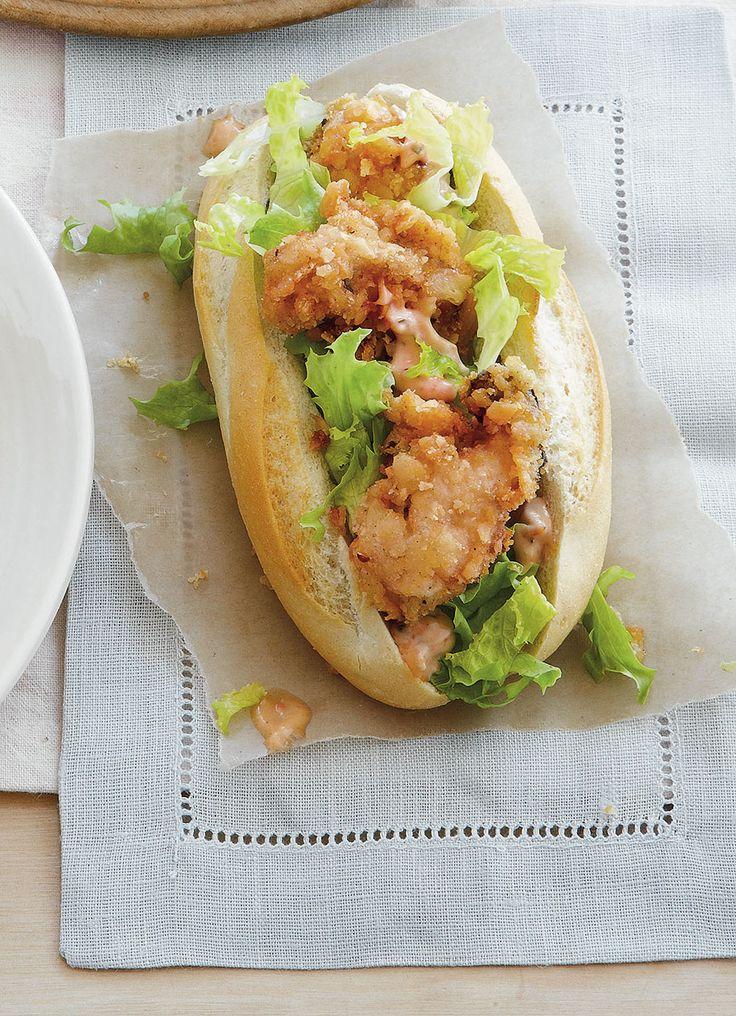Fried Oyster Po'Boys | Recipe