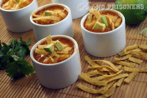 Chicken Tortilla Chili | Recipes - Soups / Salads | Pinterest