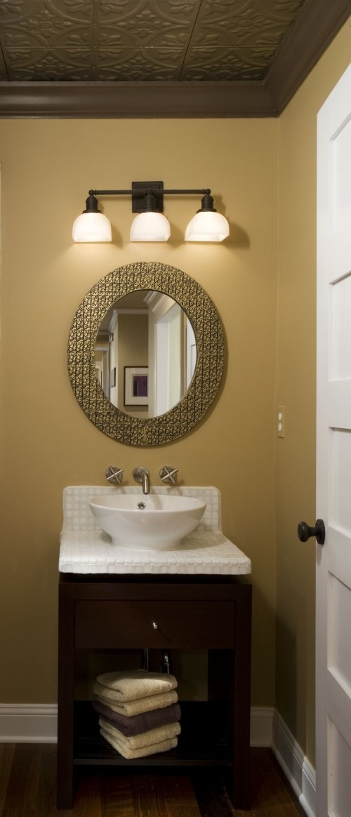 Powder Room Mirror For The Home Pinterest