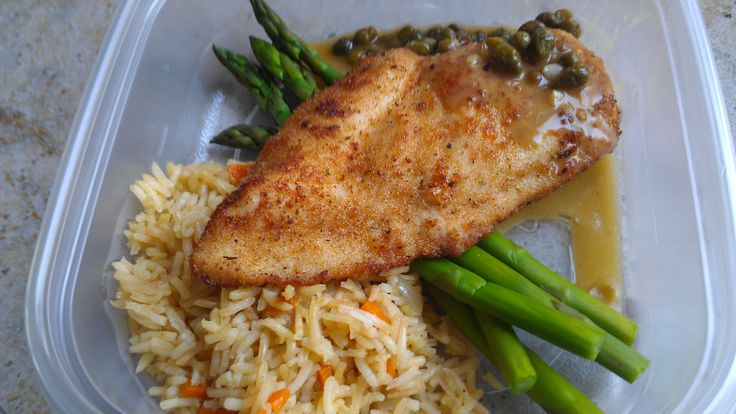 Chicken piccata and rice pilaf ¦ Friend That Cooks Blog Paleo ...