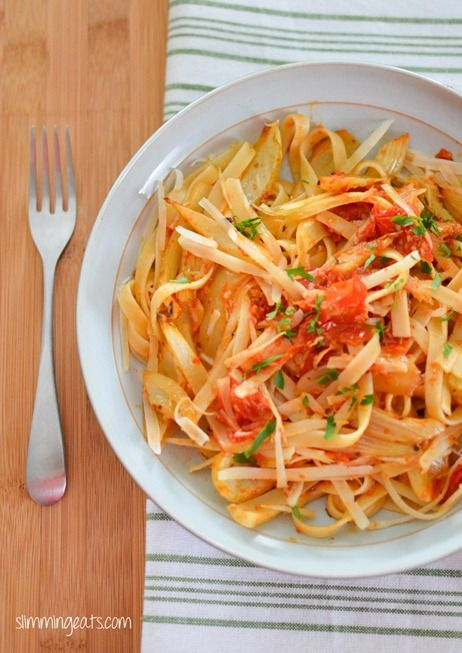 Roasted Tomato And Fennel With Tagliatelle Recipe — Dishmaps