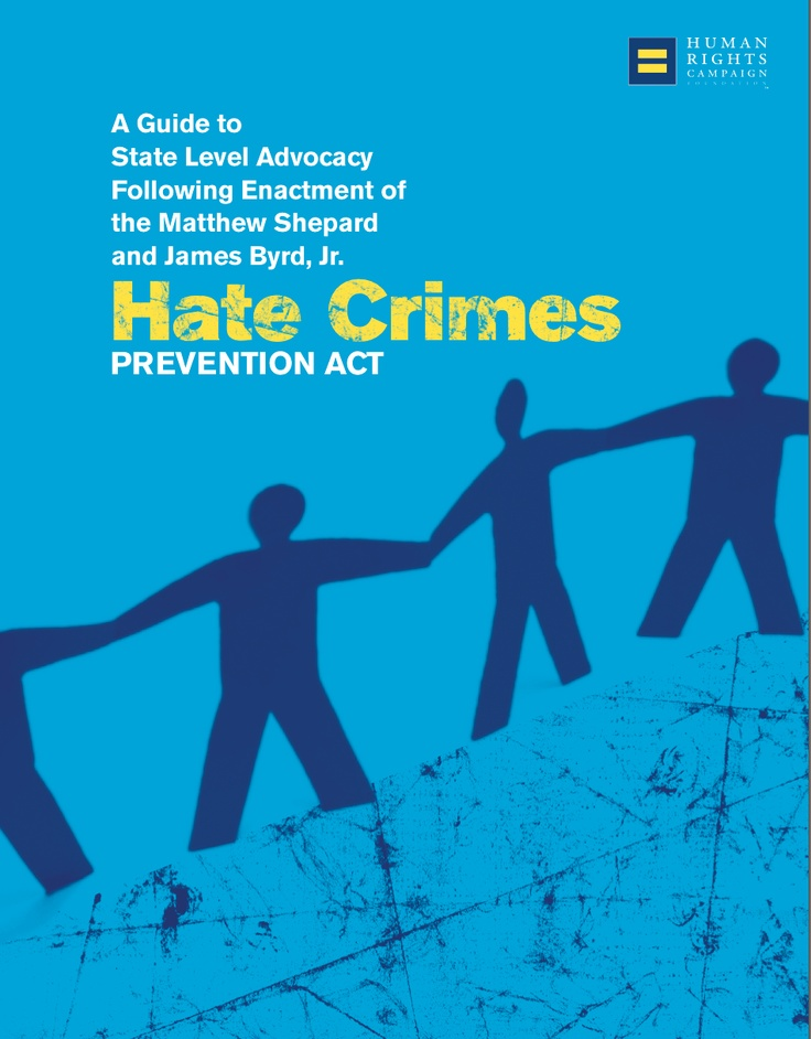 the importance of preventing hate crimes In recent years, the demand for the participation of academic researchers in crime prevention working groups has increased as practitioners have recognized the importance of strategic information products in developing effective crime prevention strategies.
