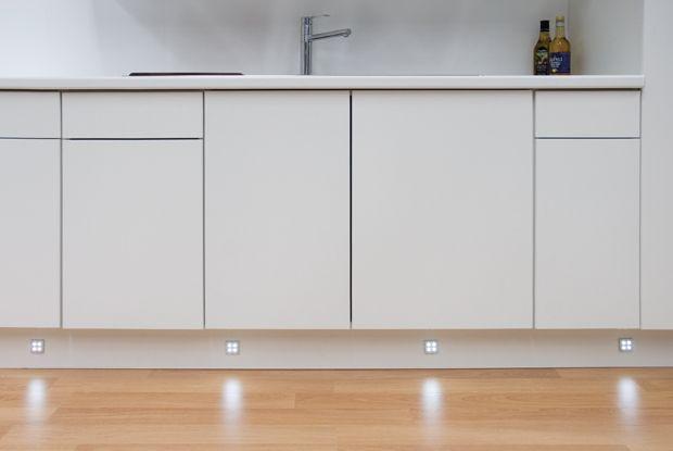 plinth kickboard lighting is a must home kitchen pinterest
