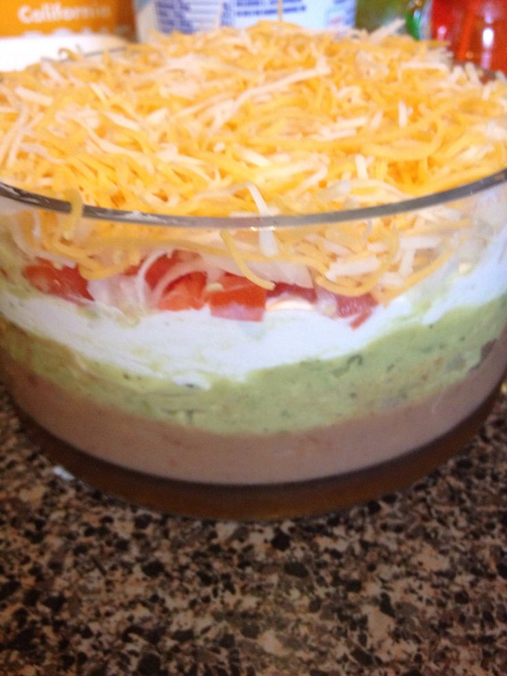 How to Make 6 Layer Mexican Dip | Recipe