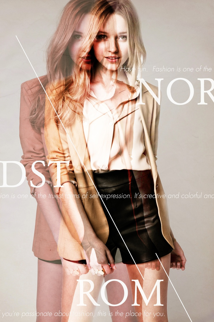 Nordstrom Fashion Typography