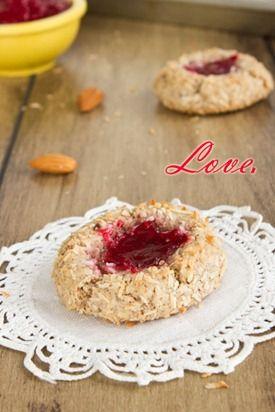 Raspberry Almond Thumbprint Cookies (Gluten-Free & Vegan) @Tara Ann ...