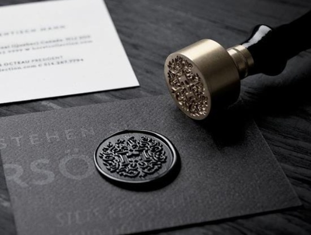 custom letter wax seal the cknd lifestyle pinterest With wax letter seal custom