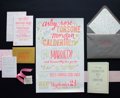 Awesome site for wedding invitations. Whether your style is modern, vintage, eco-chic, or something completely unique and out of the box, this website will serve as a ground inspiration point.