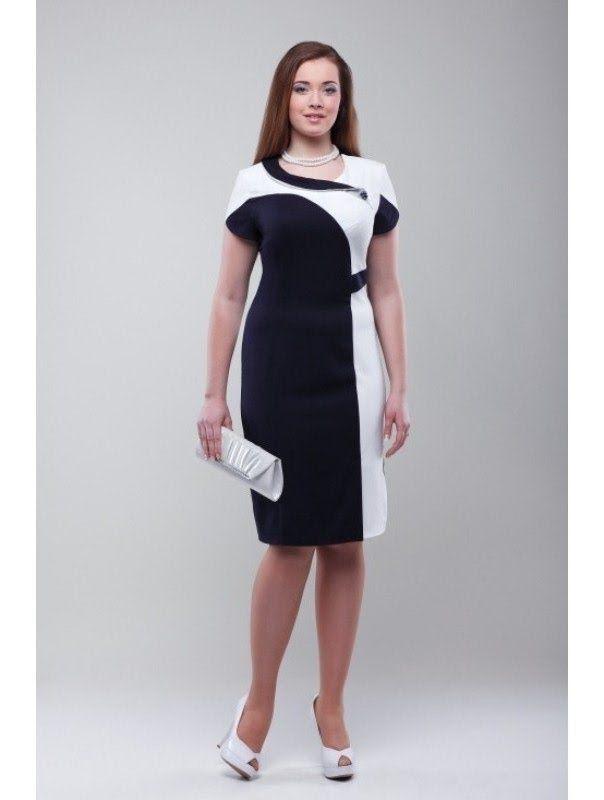 Платье комбинированное своими руками