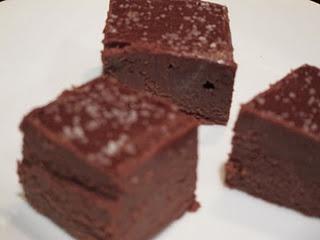 Chocolate and Nutella Fudge with Salt | Desserts | Pinterest