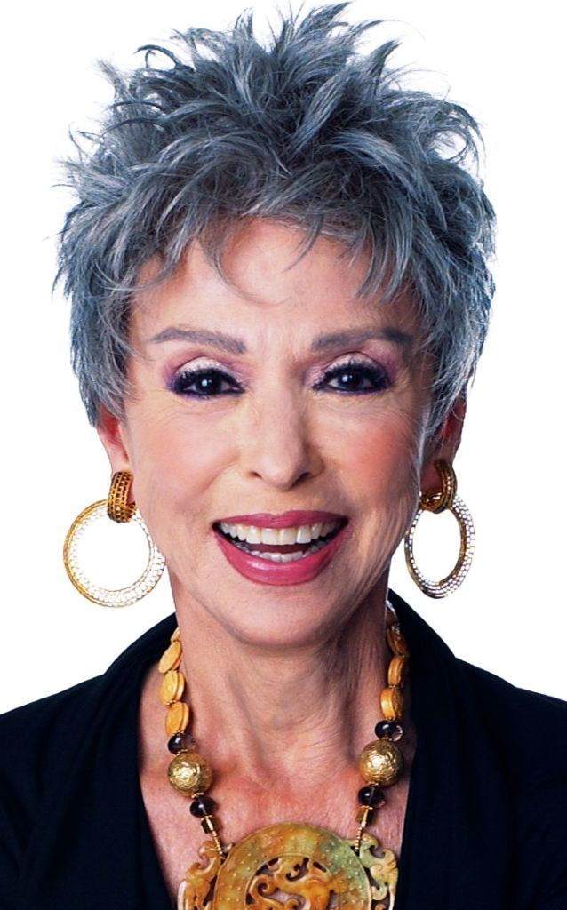 ... women over 50 | Photo Gallery of the 2014 Short Spiky Hairstyles For