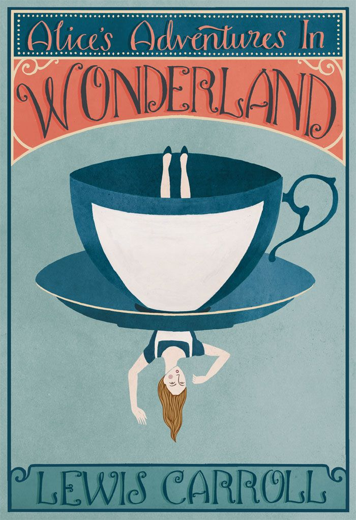 Book Cover Portadas S ~ Alice in wonderland book cover covers pinterest
