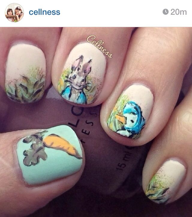 Peter rabbit nails