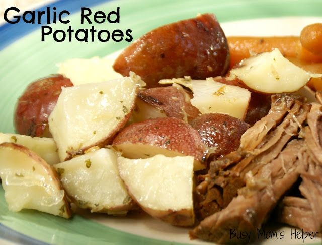 ... Helper: Family fun, food, recipes and crafts.: Garlic Red Potatoes