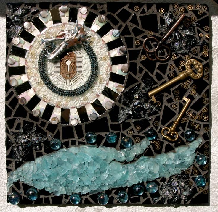 Mixed Media Mosaic, Holly Byram