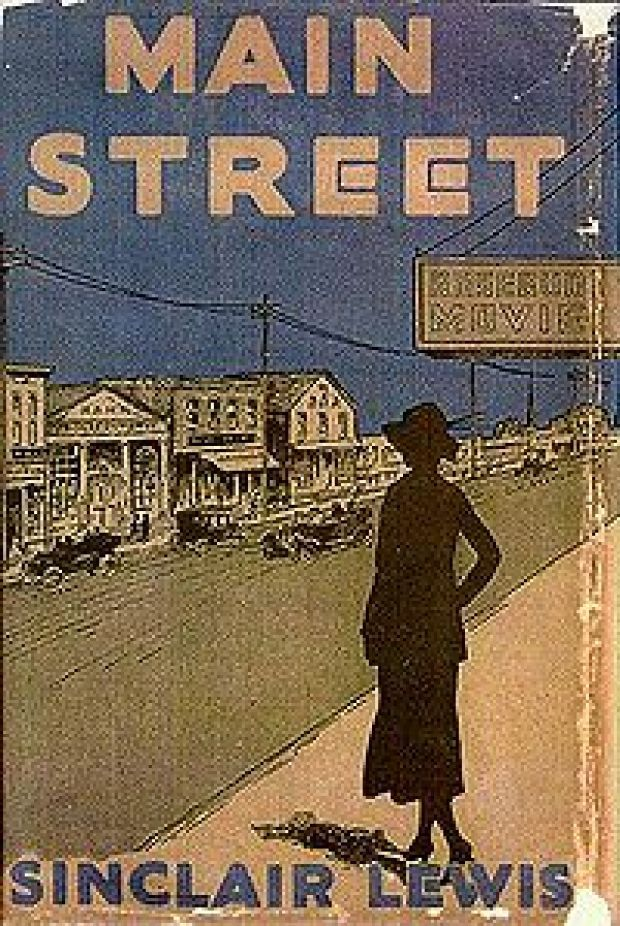 main street by sinclair lewis english literature essay Dedicated to the first american to win the nobel prize for literature  in main  street, lewis portrays gopher prairie, minnesota, as a typical small town in the   there have been two collections of essays focusing on arrowsmith, twentieth.