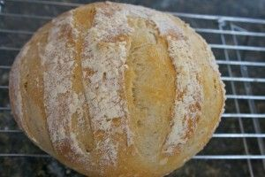 Artisan Bread | OAMC from Once A Month Mom