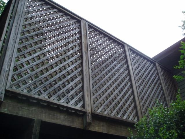 Privacy panels for decks joy studio design gallery for Deck privacy ideas lattice