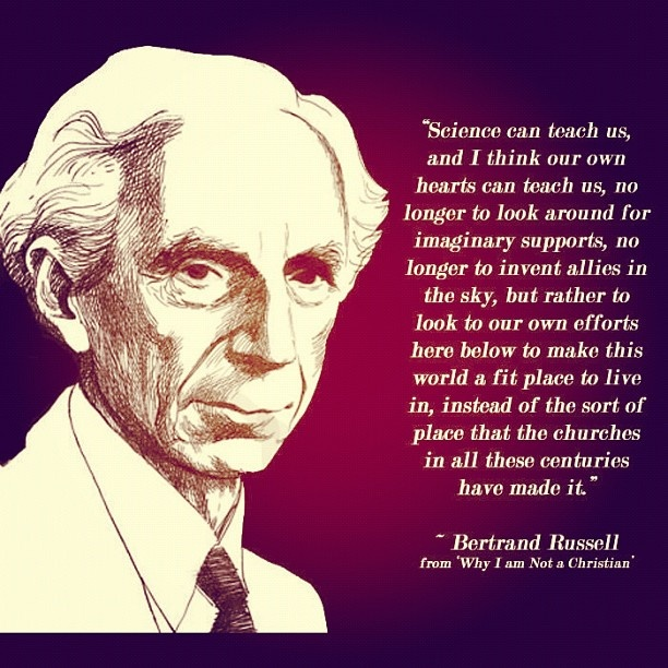 Bertrand russell essay why i am not a christian