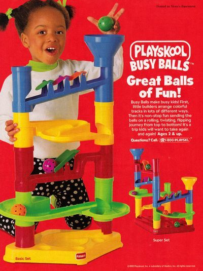 1992 ad campaign for Playskool toys | Old Ads | Pinterest