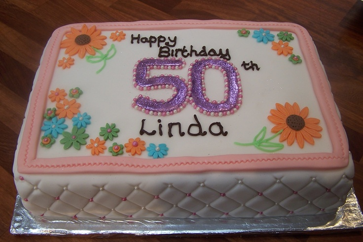 quilted effect birthday cake Cakes Pinterest