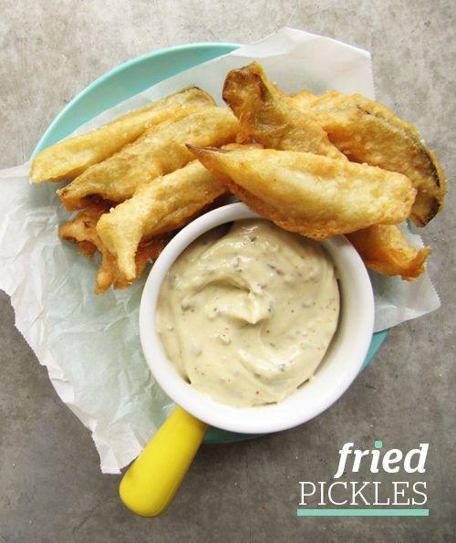 Fried Pickles! | cindycake | Pinterest