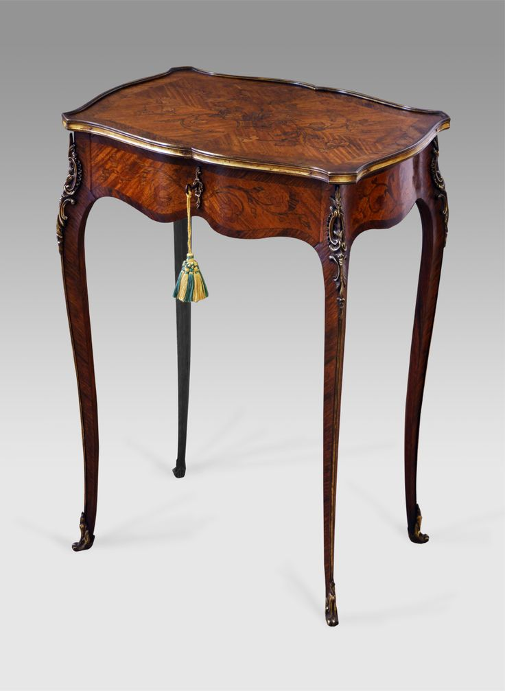 Antique marquetry occasional table antique tables for Table table table