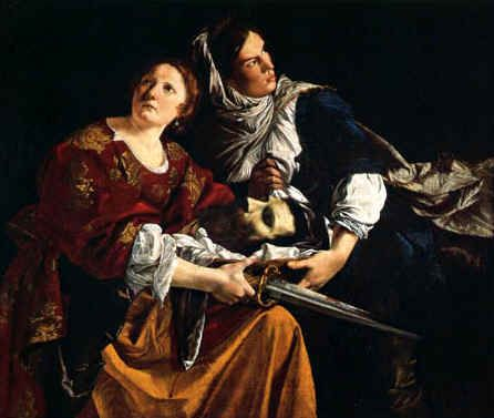 Judith and her Maidservant with the Head of Holofernes  Orazio    Judith And Her Maidservant With The Head Of Holofernes