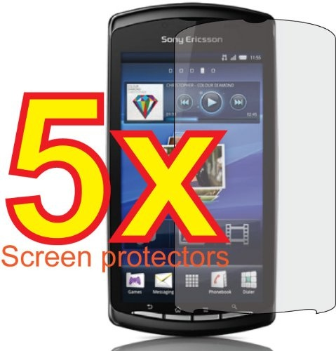 5pcs Sony Ericsson Xperia PLAY r800i r800 Premium Clear LCD Screen