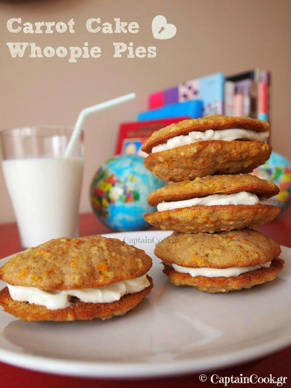 Carrot Cake Whoopie Pies | Sweet treats | Pinterest